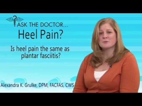 Is Heel Pain The Same As Plantar Fasciitis?  West Chester, Newtown Square, Audubon PA - Podiatrist