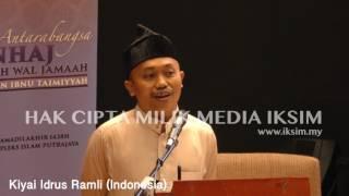 Video KIYAI IDRUS RAMLI (INDONESIA) - SEMINAR ANTARABANGSA - MANHAJ AHLI SUNNAH WAL JAMAAH MP3, 3GP, MP4, WEBM, AVI, FLV November 2017