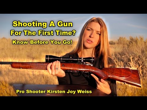 How To Shoot A Gun (New Shooters) – What To Expect – Pro Shooting Tips #6