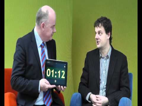 Marcus Isherwood, Creative Media, takes the 60 second challenge with Omagh Enterprise Company