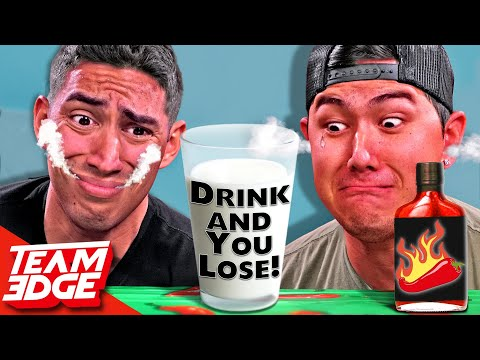 You Drink You LOSE! | Extreme SPICY Challenge!!