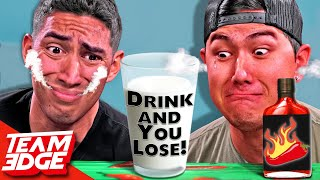 You Drink You LOSE! | Extreme SPICY Challenge!! 🌶