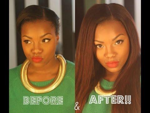 Making a full wig with a Custom Closure
