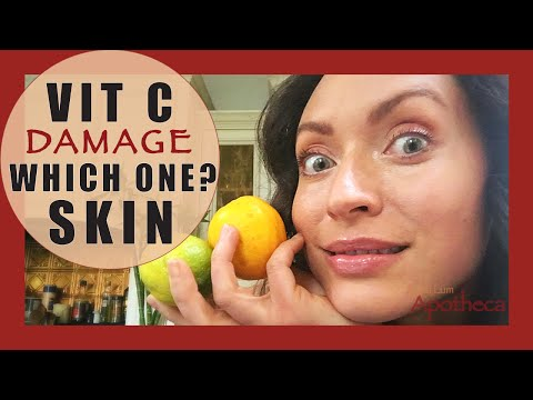 ✨ 💖 ✨ Vit C Skin damage?🍋 ? ascorbyl palmitate