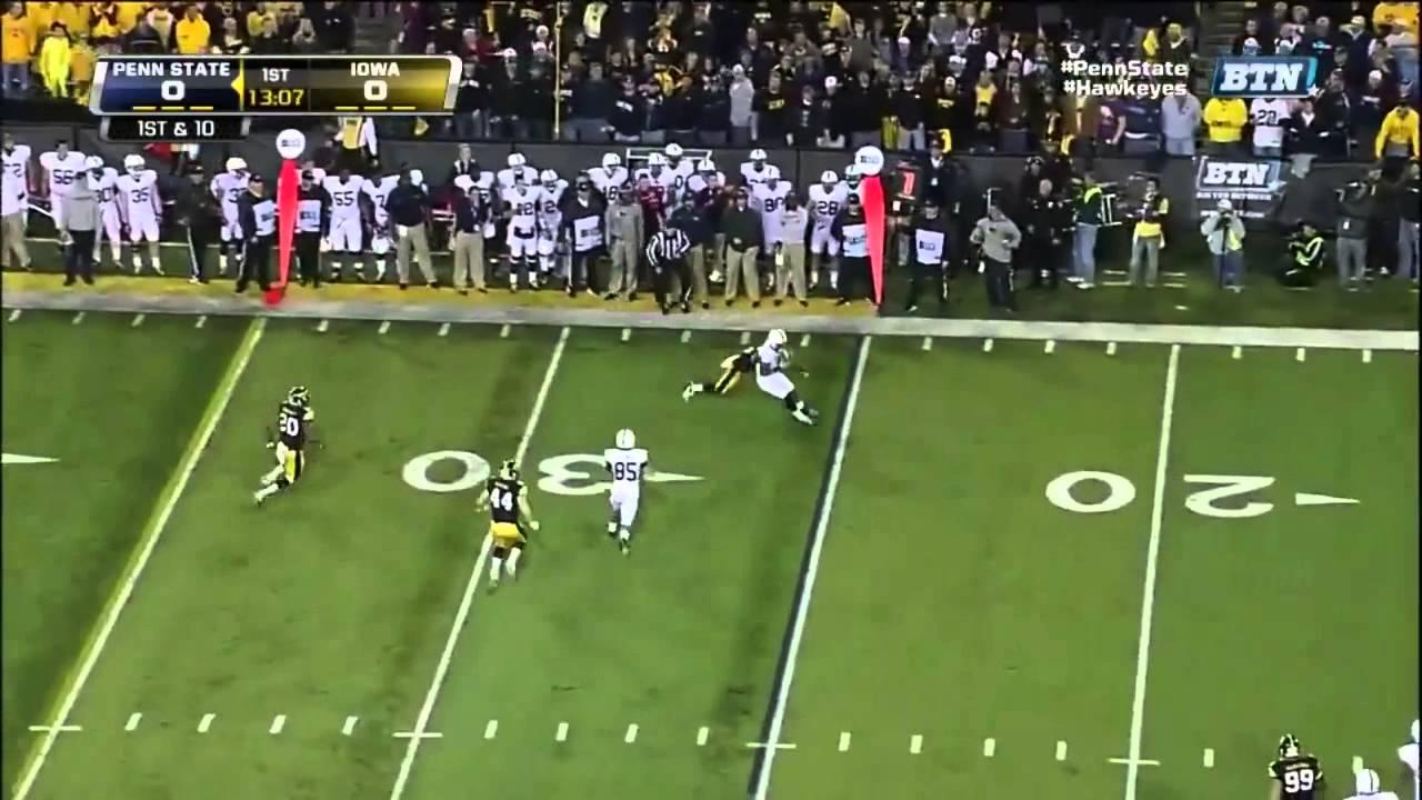 Micah Hyde vs Michigan State & Penn State (2012)
