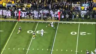 Micah Hyde vs Michigan State & Penn State (2012)