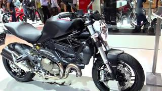5. 2018 Ducati Monster 821 DarkLight Limited Special First Impression Lookaround Review