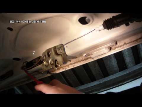 Электропривод багажника ваз 2107