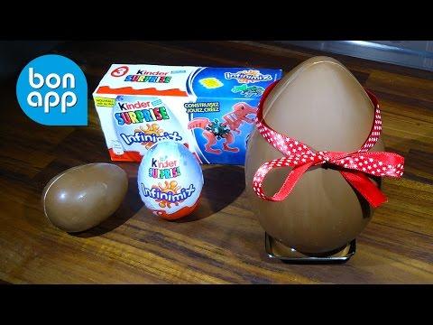 Как сделать большое шоколадное яйцо