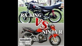 Video Ninja Vs RX King (Kejar-Kejaran Dengan Sang Raja) #sukabumi-motovlog MP3, 3GP, MP4, WEBM, AVI, FLV November 2018
