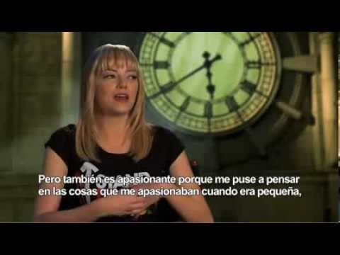 The Amazing Spider-Man (Entrevista a Emma Stone)