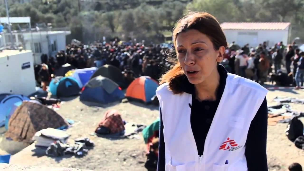 Λέσβος Χριστούγεννα Χωρίς Σύνορα  Η Παραμονή των προσφύγων στη Μόρια