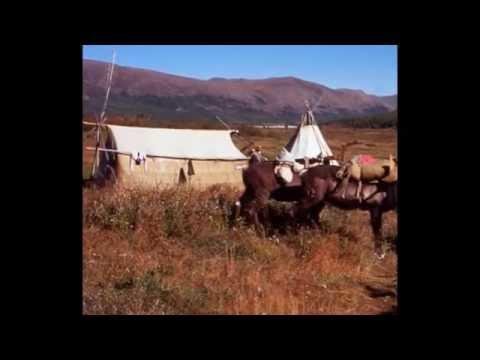 Verkhoyansk mountains in Russia (видео)
