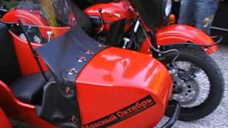 3. ural motorcycles side car  le 1 er red october livré en France-http://www.rmuca.com/