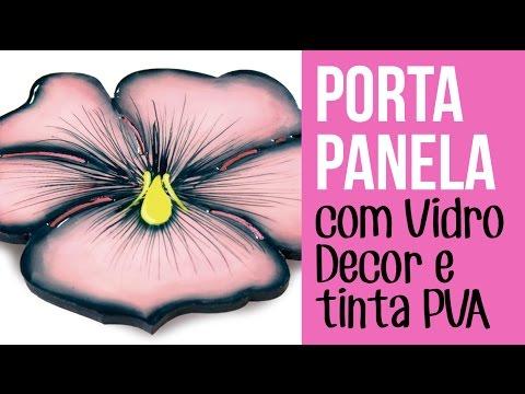 Porta Panela Flor
