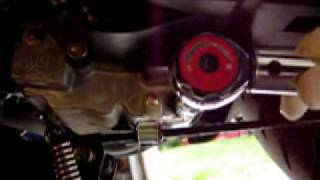 6. Kymco Super8 Scooter Oil Change