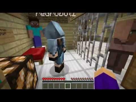 Minecraft - Прохождение карты - Побег из тюрьмы - Часть 6