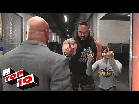 WWE 2K18 Top 10 RAW Moments : April 9, 2018 (RAW After Wrestlemania)