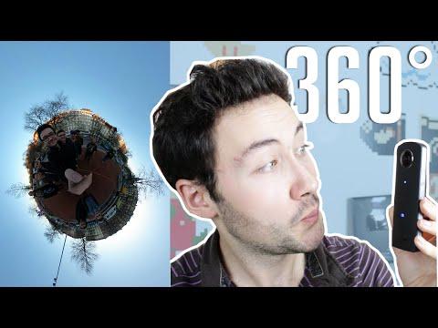 TEST CAMÉRA 360° DEGRÉS : Ricoh Theta S