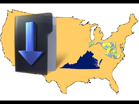 Download any country boudnary data + administrative regions e.g. states, provinces, counties etc..
