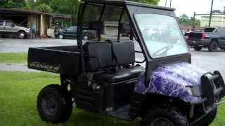 10. 2005 POLARIS RANGER 500 4X4 FOR SALE!! 850-265-9178