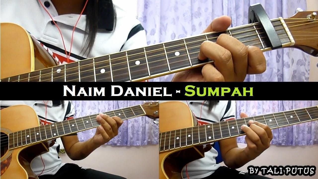 Naim Daniel – Sumpah (Instrumental/Full Acoustic/Guitar Cover)