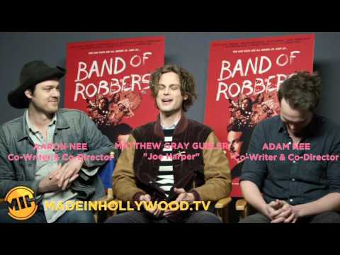 Matthew Gray Gubler on Filming 'Band of Robbers' and 'Criminal Minds' Simultaneously