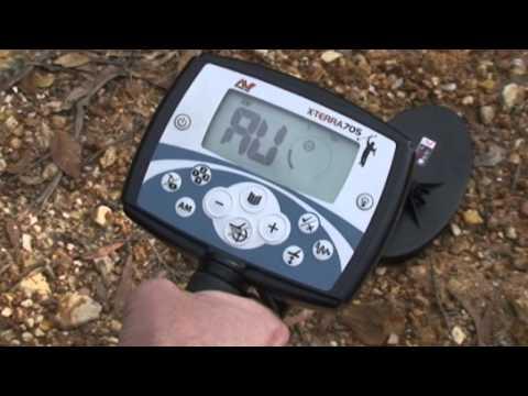 Minelab X-TERRA 705 Gold Pack Metal Detector Quick Start ~ Serious Detecting