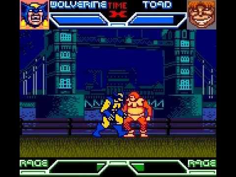 x-men mutant academy game boy rom
