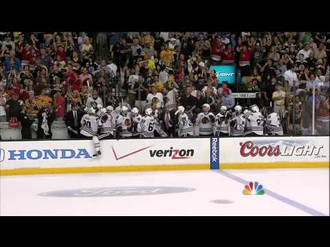 STANLEYCUP - Bryan Bickell scores the game-tying goal, Dave Bolland the winner in Game 6 of the Stanley Cup. Follow the CBSSports.com Eye on Hockey blog on Twitter at @Ey...