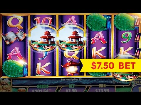 Quick Fire Jackpots Golden Peach Slot $7.50 Max Bet *BIG WIN* Bonus!