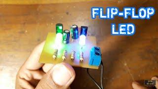 Video Cuma 3ribu.!!! - DIY LED Flip-Flop Using Transistor MP3, 3GP, MP4, WEBM, AVI, FLV September 2018