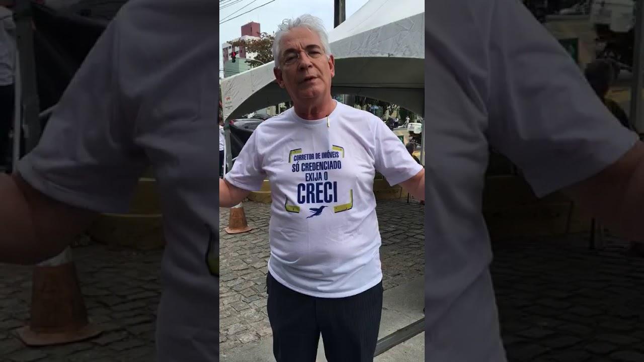 Presidente do Creci-RN, Waldemir Bezerra, comenta ação de valorização da categoria.
