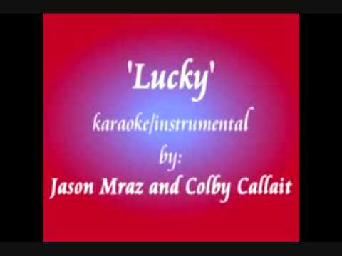 Lucky - Karaoke Duet - Male Part Only - You Be Colbie