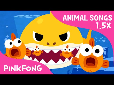 FASTER Version of Baby Shark | Faster and Faster! | Animal Songs | PINKFONG Songs for Children