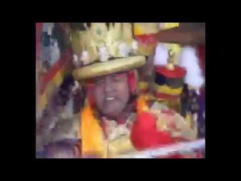 Dorje Shugden Oracle at Shar Gaden Monastery's Inauguration