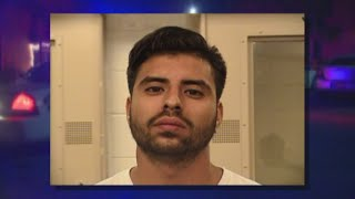 A man is accused of beating and threatening to kill the mother of his infant son.