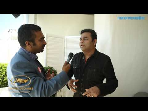 AR Rahman Speaks about Sangamithra at  Cannes Film Festival 2017 | Manorama Online (видео)