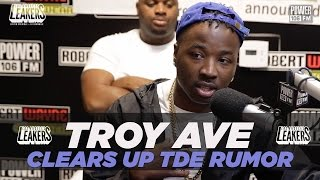 Video Troy Ave Clears Up TDE Signing Rumors + Talks 'NuPac' Album MP3, 3GP, MP4, WEBM, AVI, FLV Oktober 2018