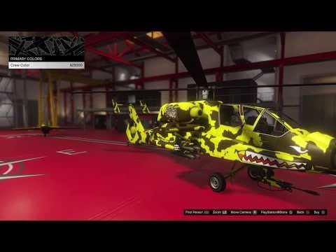 FH-1 Hunter Customization GTA 5 Online