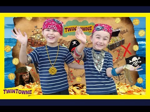 Pirates of the Caribbean Treasure Hunt (Jack Sparrow) Kids Family Fun and Adventure