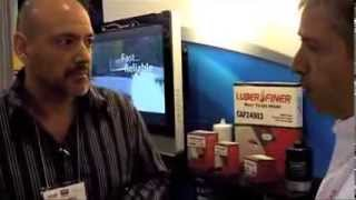 AAPEX Las Vegas 2010 - Alberto Arroyo Luber-finer Customer Advisory Council Member Interview