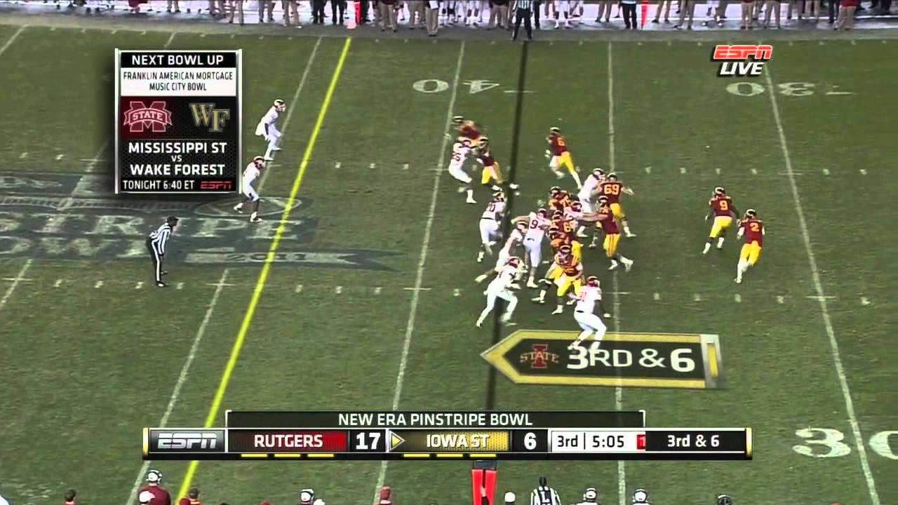 Logan Ryan vs Iowa State (2011)