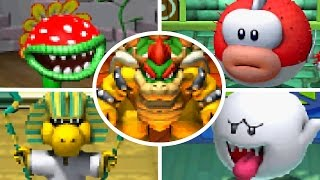 Mario Pinball Land - All Bosses & Ending