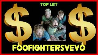 How much does foofightersVEVO make on YouTube 2016