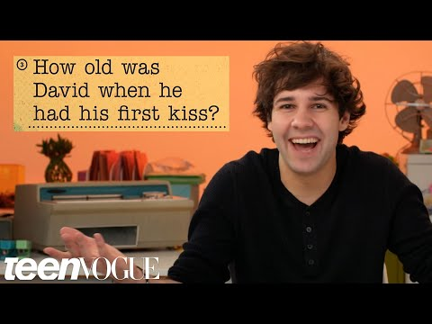 David Dobrik Guesses How 1,016 Fans Responded to a Survey About Him | Teen Vogue