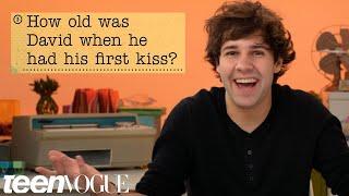 Video David Dobrik Guesses How 1,016 Fans Responded to a Survey About Him | Teen Vogue MP3, 3GP, MP4, WEBM, AVI, FLV Maret 2019