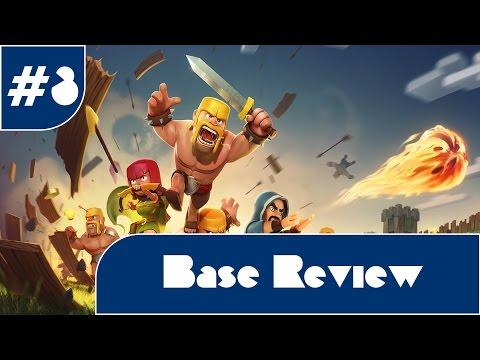 Clash Of Clans || Base Review #3 w/ PIEKO GAMES