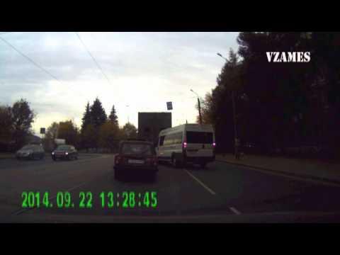 Авария с маршруткой в Твери