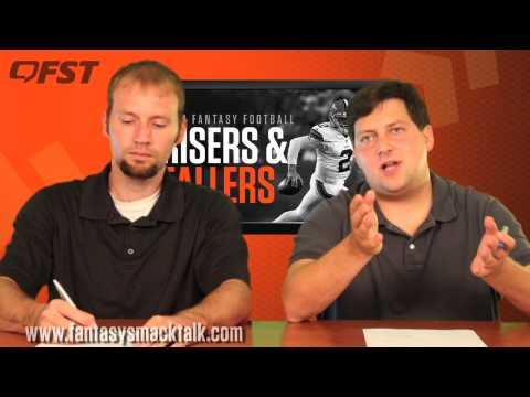 2014 Fantasy Football Preseason Risers and Fallers thumbnail